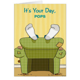Happy fathers day cards greeting photo cards zazzle funny lazy happy fathers day greeting card m4hsunfo Image collections
