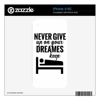 Funny lazy selective participation tshirt skin for iPhone 4