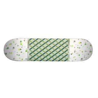 Funny leaf skateboard deck