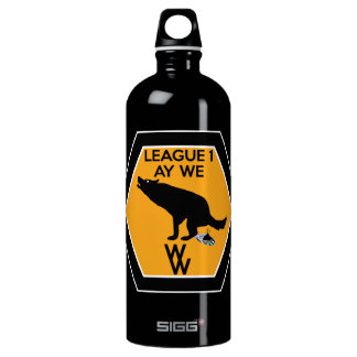 Funny League 1 ay we WWFC Water Bottle