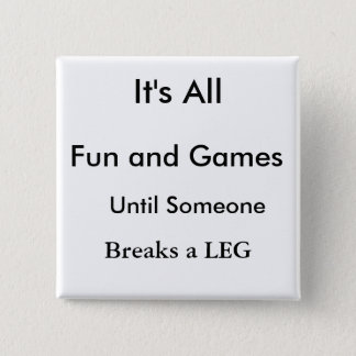 funny, leg, get well button