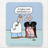 Funny Legal Profession Cartoon Mouse Pad mousepad