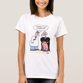 Funny Legal Profession Judge and Doctor Cartoon T-Shirt