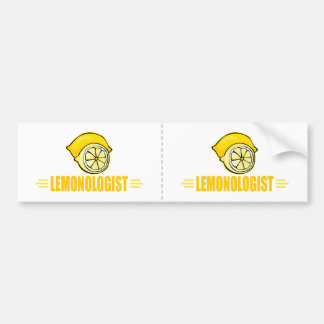 Funny Lemon Bumper Sticker