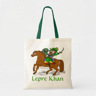 Funny Lepre Khan St Patrick's Day Tote Bag