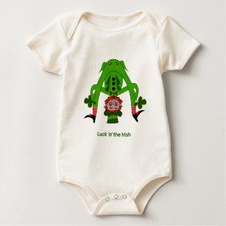 Funny Leprechaun Baby Bodysuit