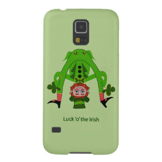 Funny Leprechaun Case For Galaxy S5