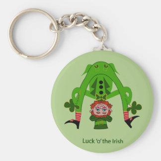 Funny Leprechaun Keychains
