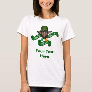 Funny Leprechaun St Patrick's day T-Shirt