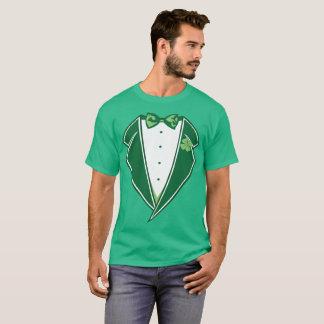 Funny Leprechaun Tux T-Shirt