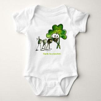 Funny Leprochaun St. Patricks Day Baby Baby Bodysuit