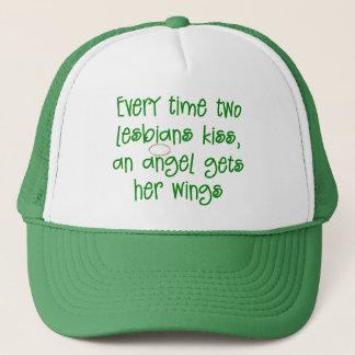 Funny Lesbian Christmas Gift Trucker Hat