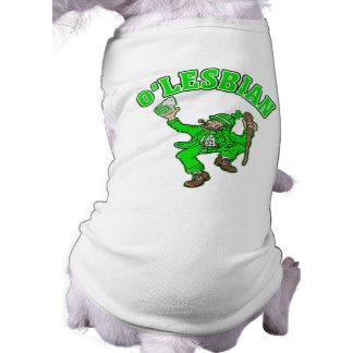 Funny Lesbian St. Patrick's Day Gift Tee