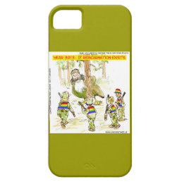 Funny LGBT Vs Giant Duck iPhone 5/5S Phone Case