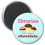 Funny Librarian Magnet