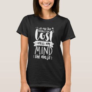 Funny Life Quote Hand Lettering Typography T shirt