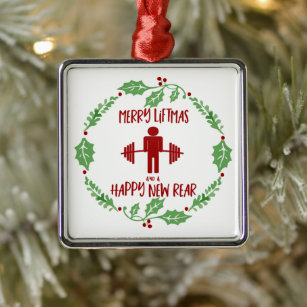 Fitness Quotes Christmas Decorations Zazzle