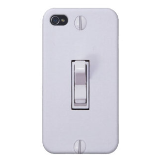 Funny Light Switch 4s iPhone 4 Cases