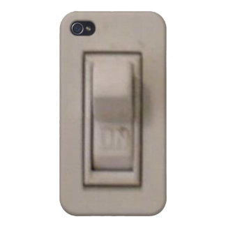 Funny Light Switch iPhone 4 Case