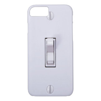 Funny Light Switch iPhone 7 case