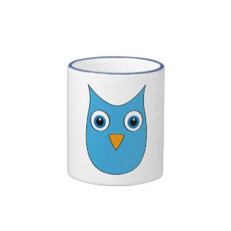 Funny lightblue Owl - Eyes wide open... Mug