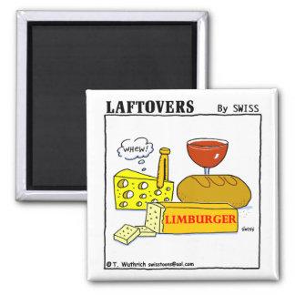 Funny Limburger Cheese Cartoon Fridge Magnet