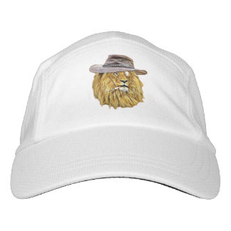 Funny Lion Cat Headsweats Hat