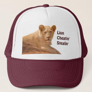 Funny Lion Wildlife Big Cat Hat