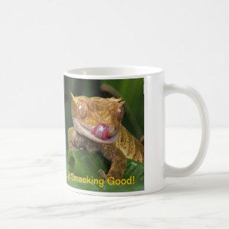 Funny Lip Licking Gecko Coffee Mug