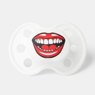 Funny Lips Pacifier