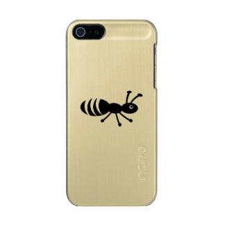 Funny Little Bug - Pest Control Joke Metallic iPhone SE/5/5s Case