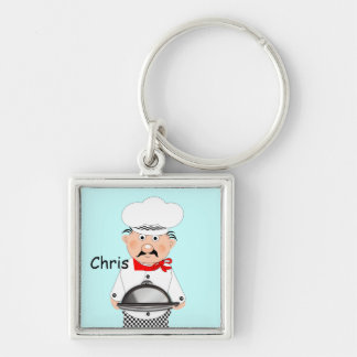 Funny Little Chef Theme Keychain