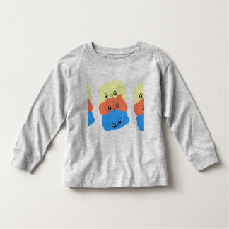 Funny little creatures. Toddler Long Sleeve Toddler T-shirt
