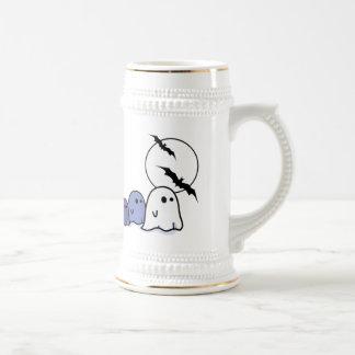 Funny Little Ghosts. Halloween Mug