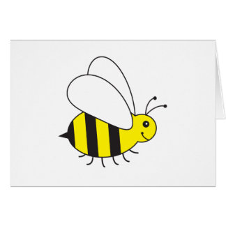 Funny Little Honey Bee Cute Card