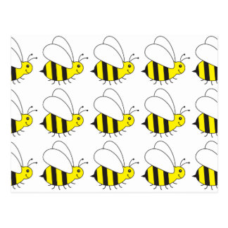 Funny Little Honey Bee Cute Postcard