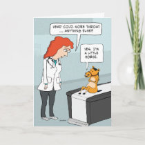 Funny Little Horse Get Well Card