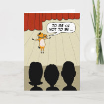 Funny Little Horse Play Happy Anniversary Card