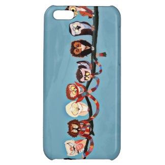 Funny Little Owls Case For iPhone 5C