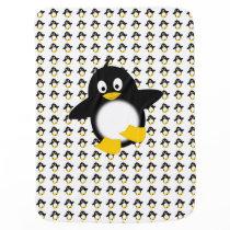 Funny little penguin blanket