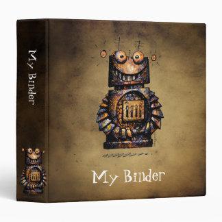 Funny Little Robot Binder