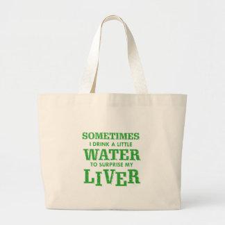 Funny Liver designs Large Tote Bag
