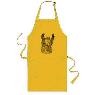 Funny Llama Long Apron