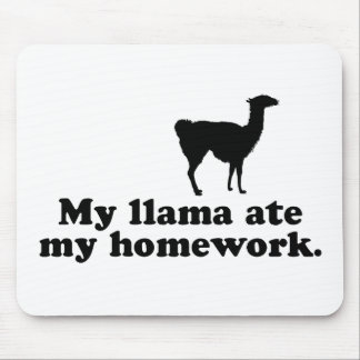 Funny Llama Mouse Pad