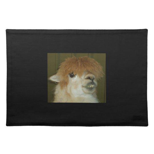Funny Llama place mat