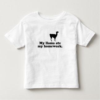 Funny Llama Toddler T-shirt