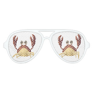 Funny  Lobster Adult Aviator Party Shades
