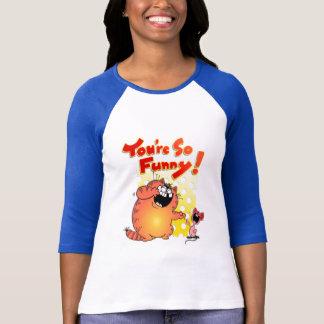 Funny LOL Cartoon Cat + Mouse | Cartoon Cat T-Shirt