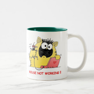Funny LOL Cat and Mouse Mugs