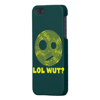 Funny LOL WUT Yellow Silly Face iPhone 5 Cover